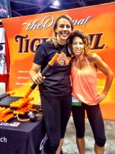 Tiger Tail founder, Spring Faussett, with LaLaScoop co-founder and Andiamo Body owner/trainer, Rochelle Robinson