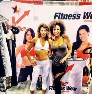 UpVibe Founder, Priscilla with LaLaScoop co-founder and Andiamo Body owner/trainer, Rochelle Robinson