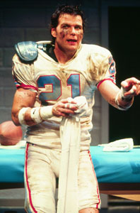 "Ex-NFL Safety, Playwright and Actor, Bo Eason, takles Broadway in his one-man-show ""Runt of the Litter"" (photo: courtesy of www.boeason.com)"