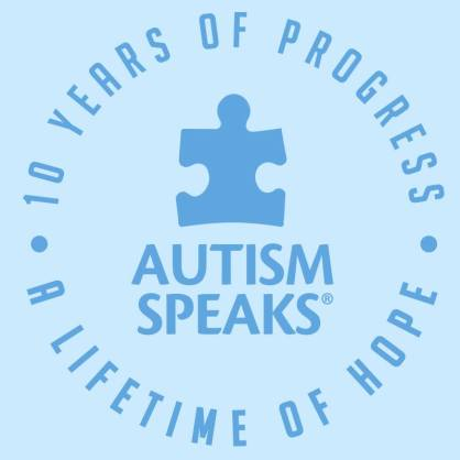 Autism Speaks celebrates a decade of progress and a lifetime of hope (photo: courtesy of Autism Speaks)