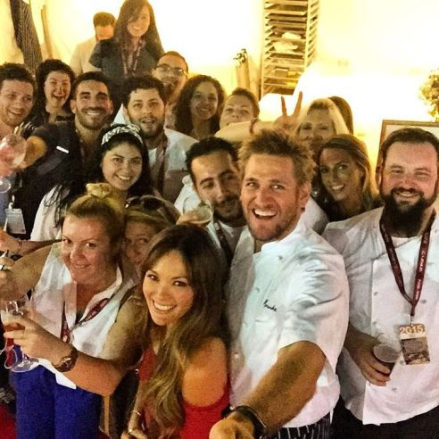 Curtis Stone 5th Annual Los Angeles Food and Wine Festival 2015.