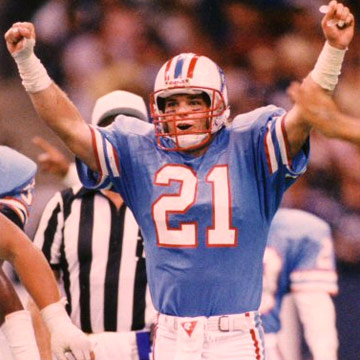 Bo Eason, defensive back for the Houston Oilers (photo: courtesy of www.boeason.com)