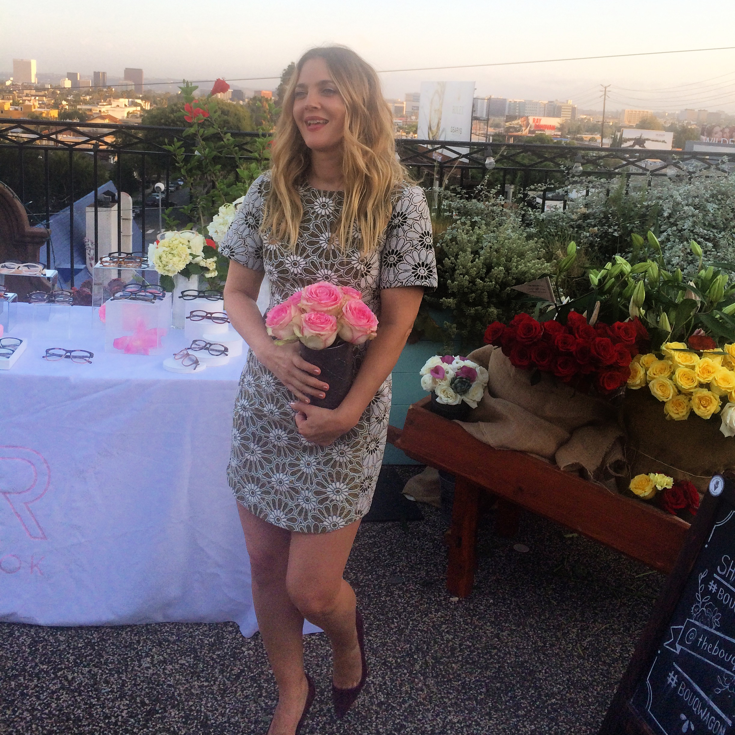 Drew Barrymore Launches Flower Beauty And Eyewear Lalascoop