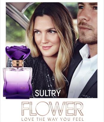sultry Flower Drew Barrymore