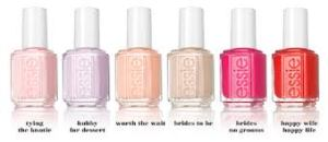 Essie Bridal Nail Polish Collection (Photo credit: simplenailsandbeauty.com)