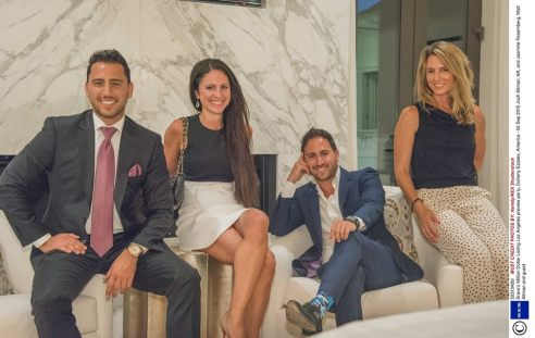 Learning some real estate tips from the LA's real estate tycoons Josh and Matt Altman. (Photo credit: Variety)