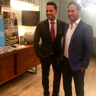 Josh and Matt Altman, the dynamic duo responsible for the sale of LA's most luxurious properties. Catch them live on the Bravo TV show Million Dollar Listing. (Photo credit: Melissa Curtin)