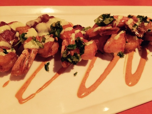 Bacon. Shrimp. Love. (Photo by Scott Bridges)