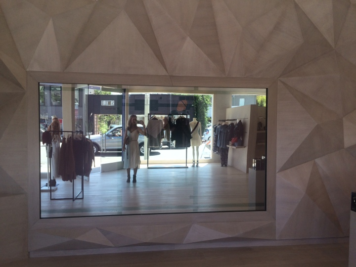 Rebecca Minkoff's new store on Melrose offering a tech experience.