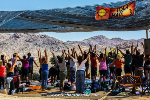 Come out to the 7th Annual Bhakti Fest in Joshua Tree, CA (photo credit: Richard Nesdale / courtesy of Bhakti Fest Facebook)