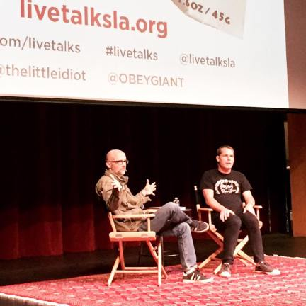 Moby Shepard Fairey Live Talks LA
