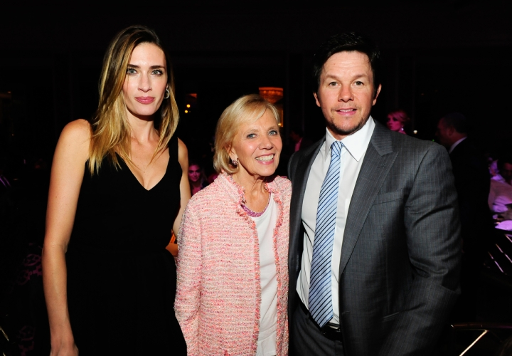 LOS ANGELES, CA - OCTOBER 2: Rhea Wahlberg, Kathleen Magee and Mark Wahlberg attend the Operation Smile's 2015 Smile Gala on October 2, 2015 in Beverly Hills, California. (Photo by Amy Graves/WireImage) *** Local Caption ***Rhea Wahlberg;Kathleen Magee;Mark Wahlberg