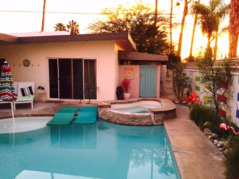 Sun Sanctuary, a delightful Visit Palm Springs property (Photo by Scott Bridges)