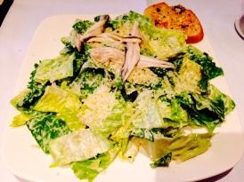 The classic Caesar salad at Terry's Lounge, Cypress Inn (photo by Scott Bridges)