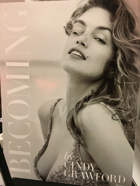 Cindy Crawford's new book Becoming at Live Talks LA. (Photo credit: Melissa Curtin)