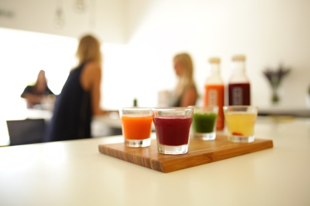 Renew Juices and a vaiety of Mylk at Cold & Thirsty with co-founders