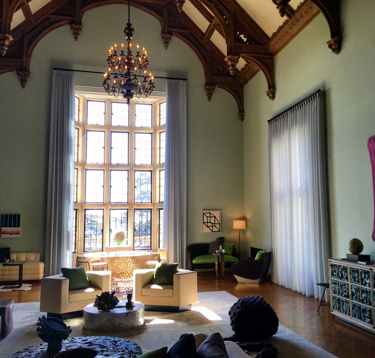 Design inspiration at the greystone mansion lalascoop for The greystone