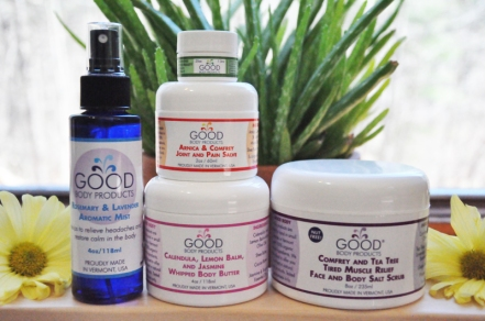 Good Body therapeutic skin care products (photo: courtesy of Good Body)