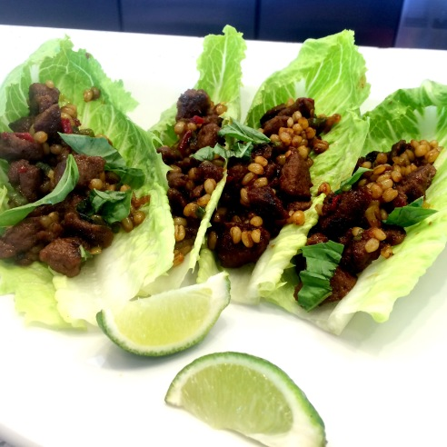 LYFE Kitchen Vietnamese Lettuce Wraps (photo credit: Rochelle Robinson)