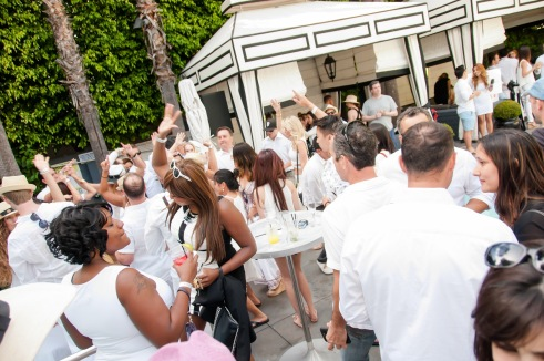 Three Day Rule White Party at Viceroy in Santa Monica (photo credit: Susy Shearer)