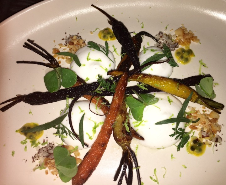 Carrots? Wolf Dining LA (Photo credit: Melissa Curtin)