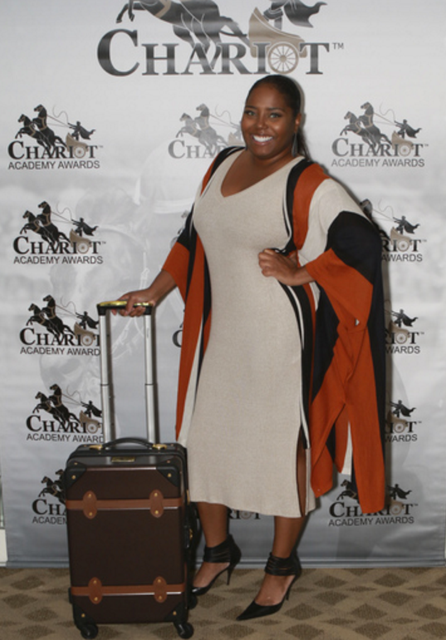 Shar Jackson showed her love for Chariot Travelwear