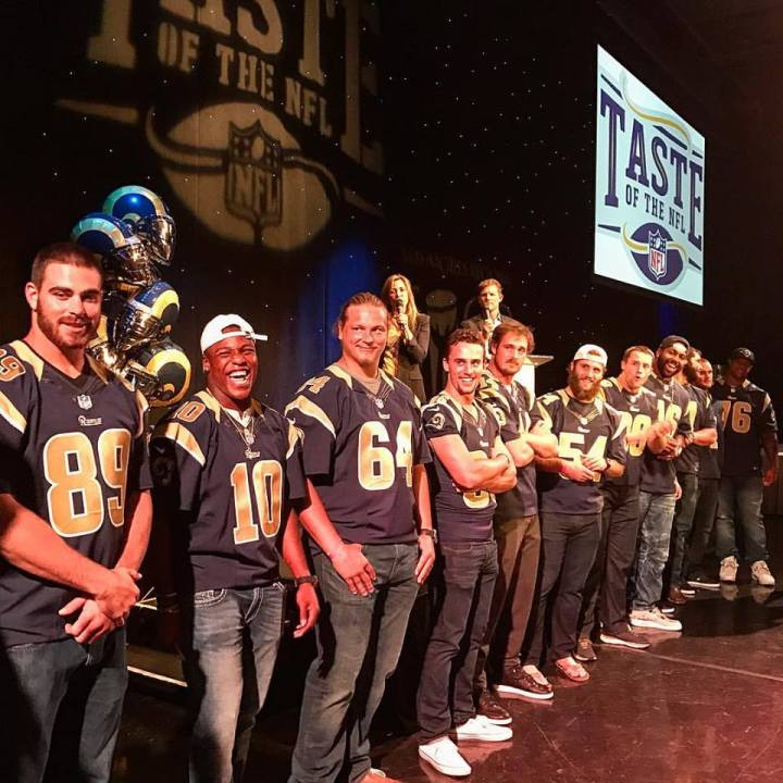 Rams LA Food Bank