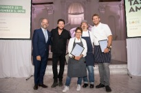 Andrew Freeman, Scott Conant, Hedy Goldsmith, Neal Fraser, Curtis Stone