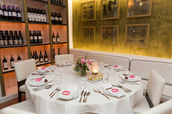 Fig and Olive West Hollywood Breast cancer awareness prix fixe dinner October