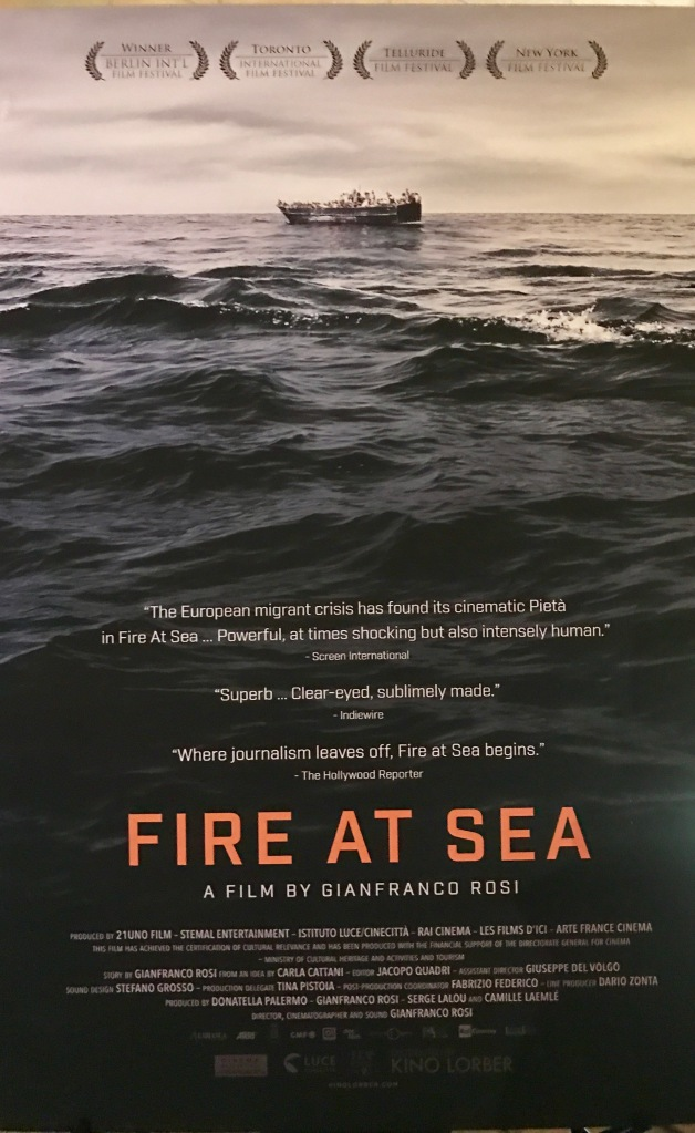 AFI Fest Fire at Sea GianFranco Rosi