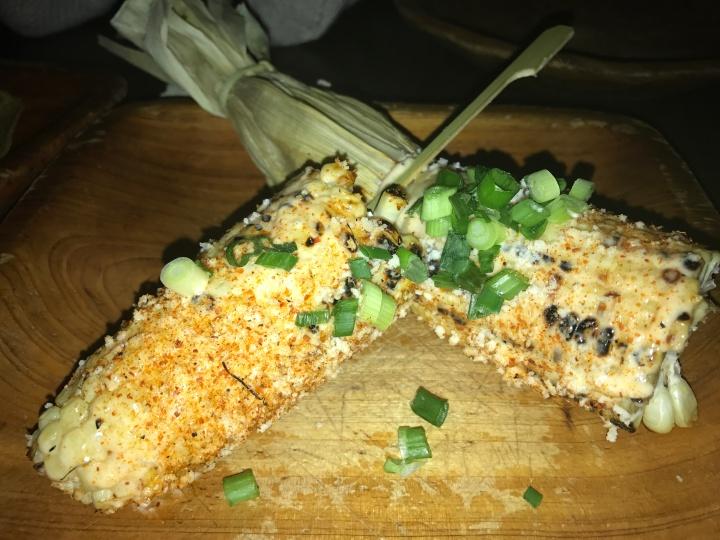Cocina Condesa mexican corn